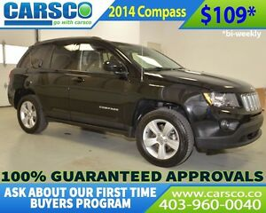 2014 Jeep Compass $0 DOWN BI WEEKLY PAYMENTS OF $109