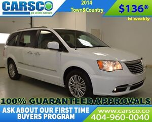 2014 Chrysler Town & Country $0 DOWN BI-WEEKLY PAYMENTS $136