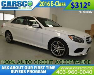 2016 Mercedes-Benz E-Class $0 DOWN DOWN BI WEEKLY PAYMENTS $312.