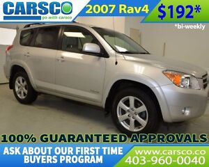 2007 Toyota RAV4 LIMITED 4X4 LEATHER