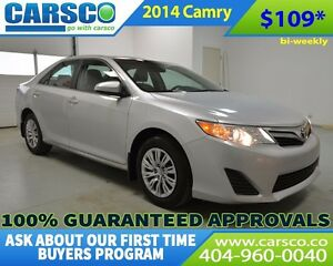 2014 Toyota Camry $0 DOWN BI-WEEKLY PAYMENTS $109