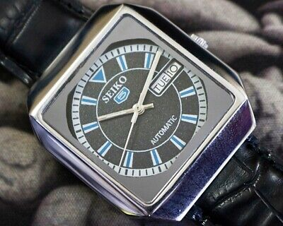 SEIKO 5 AUTOMATIC CAL.6309 MEN'S JAPAN REFURBISHED USED OLD VINTAGE WATCH 301825
