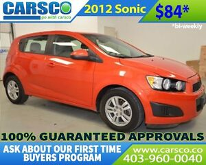 2012 Chevrolet Sonic $0 DOWN BI WEEKLY PAYMENTS $58