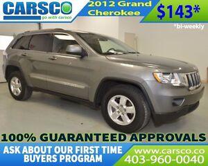 2012 Jeep Grand Cherokee $O DOWN BI WEEKLY PAYMENTS $143