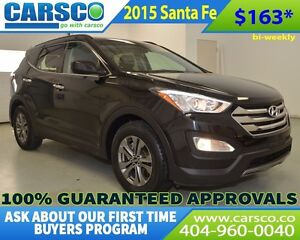 2015 Hyundai Santa Fe $0 DOWN, BI-WEEKLY PAYMENTS $163