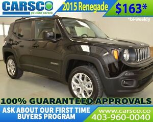 2015 Jeep Renegade $0 DOWN, BI WEEKLY PAYMENTS $163