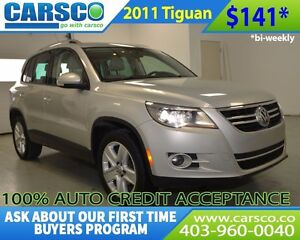 2011 Volkswagen Tiguan $0 DOWN, BI-WEEKLY PAYMENTS $141