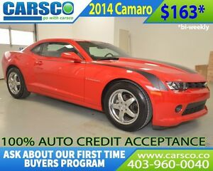 2014 Chevrolet Camaro $0 DOWN, BI WEEKLY PAYMENTS $163