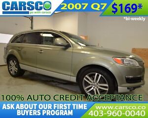 2007 Audi Q7 $0 DOWN BI WEEKLY PAYMENTS $169