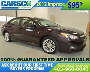 2012 Subaru Impreza $0 DOWN BI WEEKLY PAYMENTS $95