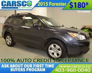 2015 Subaru Forester $0 DOWN BI WEEKLY PAYMENTS $180
