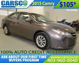 2015 Toyota Camry $ DOWN BI WEEKLY PAYMENTS $105