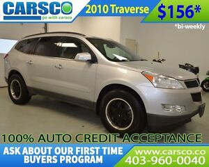 2010 Chevrolet Traverse $0 DOWN BI WEEKLY PAYMENTS $156
