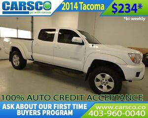 2014 Toyota Tacoma $0 DOWN BI WEEKLY PAYMENTS $234