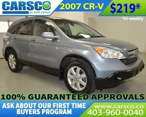 2007 Honda CR-V EX-L 4X4 LEATHER