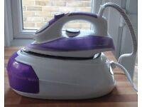 Professional Steam Iron (Purple)- GOOD AS NEW!!!