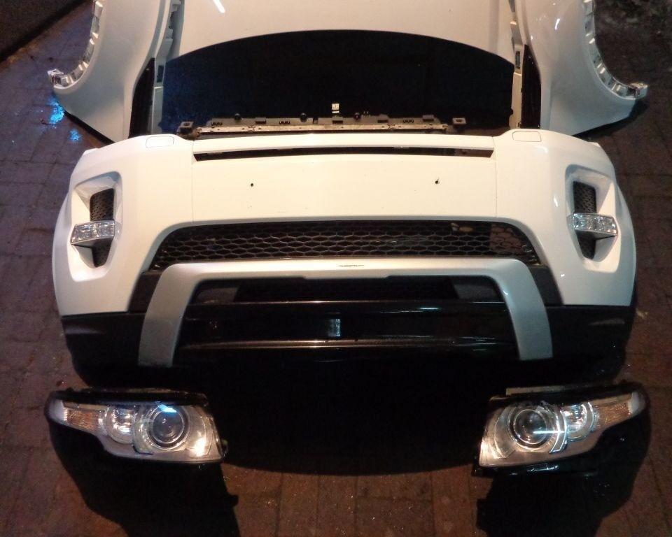 Front End For Range Rover Evoque Bumper Bonnet Fenders 2011 2016 Lhd In Luton