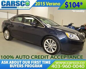 2015 Buick Verano $0 DOWN BI WEEKLY PAYMENTS $104