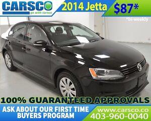 2014 Volkswagen Jetta $0 DOWN, BI WEEKLY PAYMENTS $87