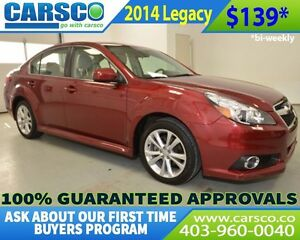 2014 Subaru Legacy $0 DOWN BI WEEKLY PAYMENTS $139