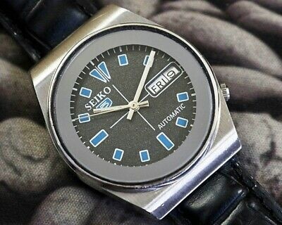 SEIKO 5 AUTOMATIC CAL.6309 MEN'S JAPAN REFURBISHED USED OLD VINTAGE WATCH 301826