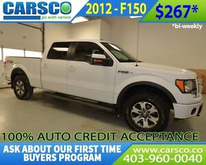 2012 Ford F-150 $0 DOWN BI WEEKLY PAYMENTS $267