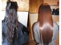Mobile Brazilian Hair Straightening from £65