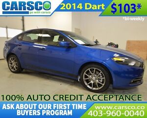 2014 Dodge Dart $0 DOWN BI WEEKLY PAYMENTS $103