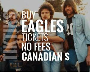The Eagles Concert Tickets Toronto July 15th and 17th. Canadian company selling guaranteed tickets, no hidden fees.