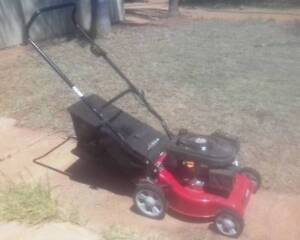 Lawn mower with small jerry can South Carnarvon Carnarvon Area Preview