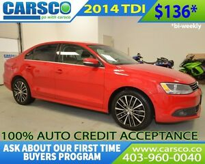 2014 Volkswagen Jetta $0 DOWN BI WEEKLY PAYMENTS $136