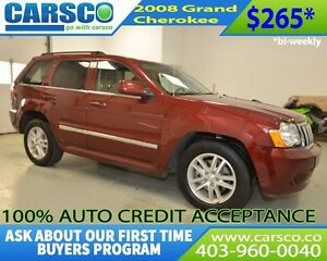 2008 Jeep Grand Cherokee $0 DOWN BI WEEKLY PAYMENTS $265