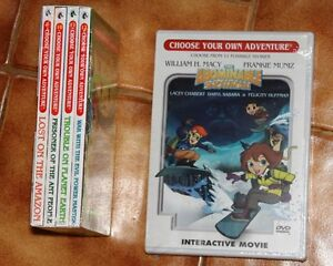 CHOOSE YOUR OWN ADVENTURE Books and DVD
