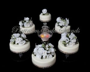 5 tier cascade wedding cake stand stands set 6 tier cascade wedding cake stand style r600 ebay 10453