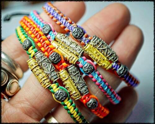 Super Charm Super Attraction Takrud Bracelet Phra Arjarn O Thai Amulet Talisman