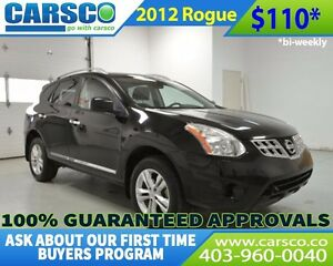 2012 Nissan Rogue $0 DOWN BI WEEKLY PAYMENTS $110