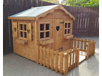 WOODEN PLAYHOUSE TOP QUALITY