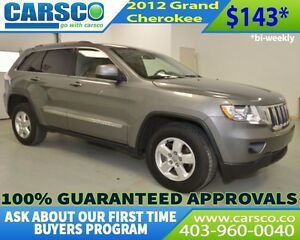 2012 Jeep Grand Cherokee $O DOWN BI WEEKLY PAYMENTS $143