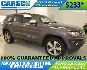 2015 Jeep Grand Cherokee Limited LOADED
