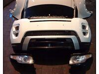 Car Part: Single unit front end for Range rover Evogue 2011-2016 LHD