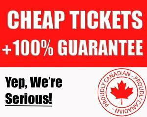 WWE Tickets. Aug 27 & 28 Cheaper Than Other sites. Canadian Owned Company!
