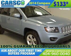 2014 Jeep Compass $0 DOWN BI-WEEKLY PAYMENTS $133