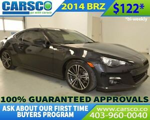 2014 Subaru BRZ $0 DOWN BI WEEKLY PAYMENTS $122