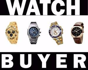 $$$ WANTED ROLEX TAG HEUER OMEGA ALL SWISS WATCHES $$$ Toukley Wyong Area Preview