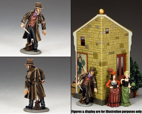 KING & COUNTRY WORLD OF DICKENS WOD044 JACK THE RIPPER MIB