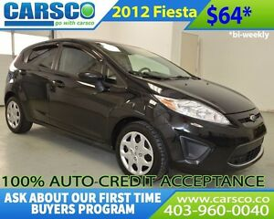 2012 Ford Fiesta $0 DOWN BI WEEKLY PAYMENTS $64