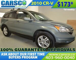 2010 Honda CR-V $0 DOWN BI WEEKLY PAYMENTS OF $173