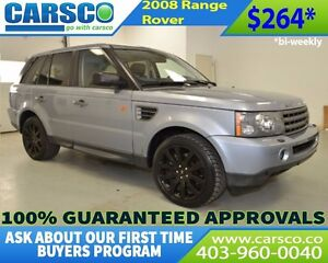 2008 Land Rover Range Rover $0 DOWN BI WEEKLY PAYMENTS $264