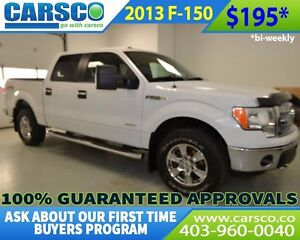 2013 Ford F-150 XTR ECOBOOST CREW CAB