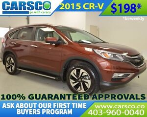 2015 Honda CR-V $0 DOWN BI WEEKLY PAYMENTS $198
